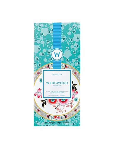 Wedgwood Wonderlust Camellia Green Tea and Blossom Tea, Box Set of 12