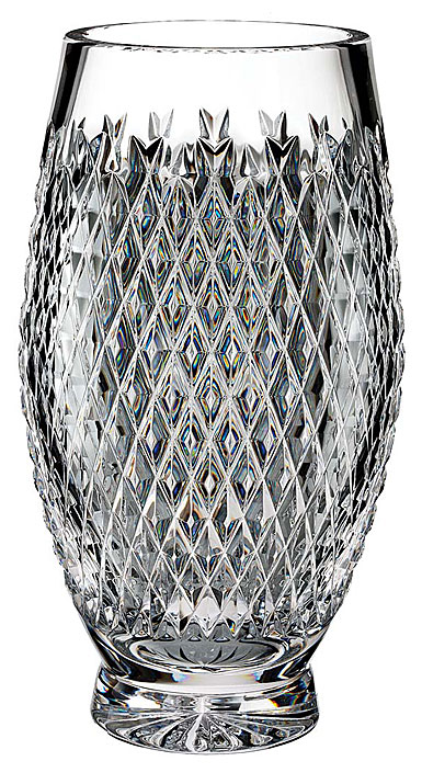 "Waterford Crystal, House of Waterford Trilogy Alana 12"" Crystal Vase"