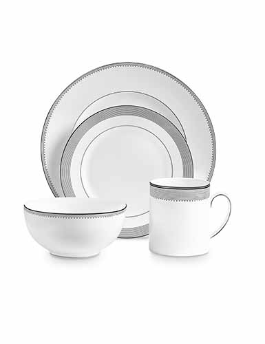 Vera Wang Wedgwood Grosgrain 4 Piece Setting