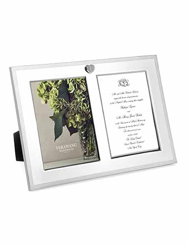 Vera Wang Wedgwood Vera Love Always Double Invitation Frame