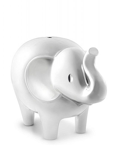 Vera Wang Wedgwood Vera Love Always Silver Elephant Baby Bank