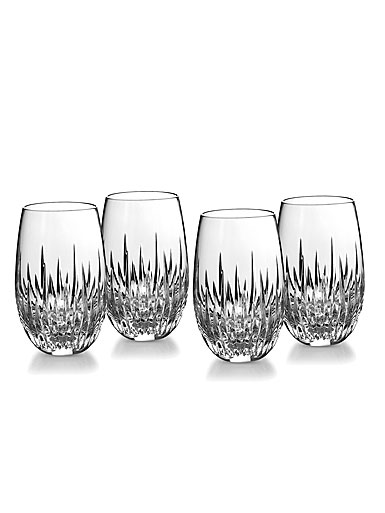 Waterford Southbridge Stemless White Wine Tumblers, Set of Four