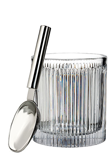 Waterford Crystal, Aras Crystal Ice Bucket With Scoop