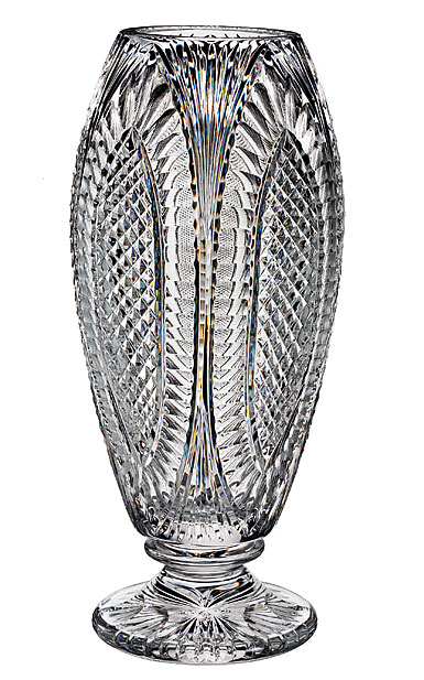 "Waterford Crystal, House of Waterford Reflections 16"" Crystal Vase, Limited Edition of 100"