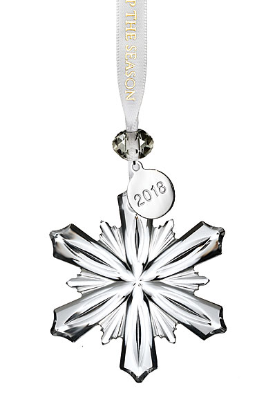 Waterford 2018 Mini Snowflake Ornament