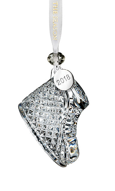 Waterford Crystal 2018 Baby's First Christmas Ornament