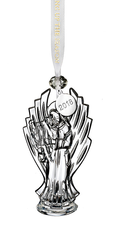 Waterford Crystal 2018 Angel Ornament