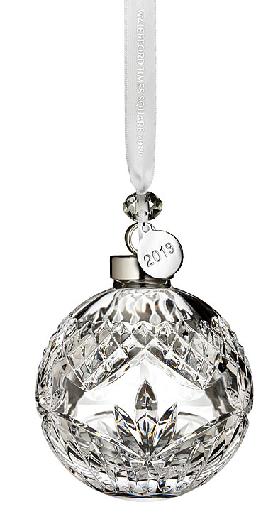 Waterford Crystal 2019 Times Square Ball Ornament