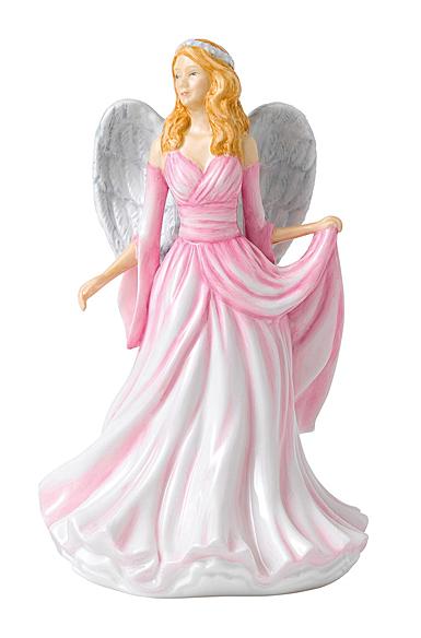Royal Doulton Pretty Ladies Watchful Angels Infinite Love