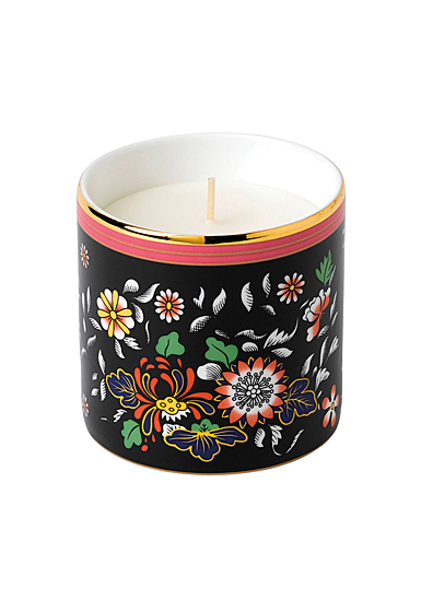 Wedgwood China Wonderlust Oriental Jewel Candle, Sandalwood and Juniper