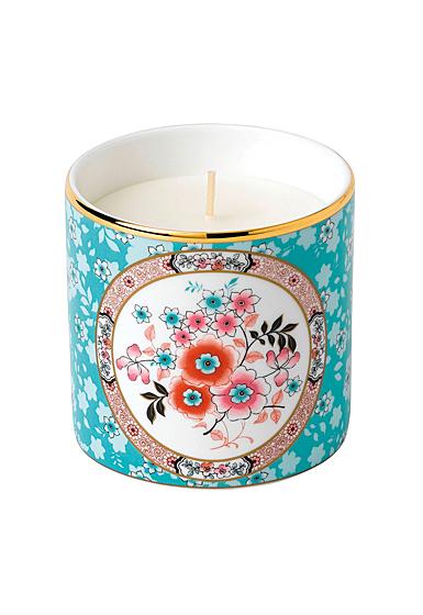 Wedgwood China Wonderlust Camellia Candle, Green Tea and Aloe