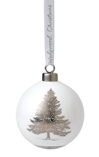 Wedgwood Fine Bone China Christmas Tree Ornament