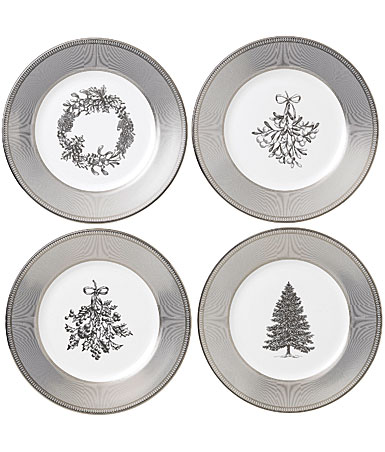 Wedgwood 2019 Winter White Salad Plate Set of Four