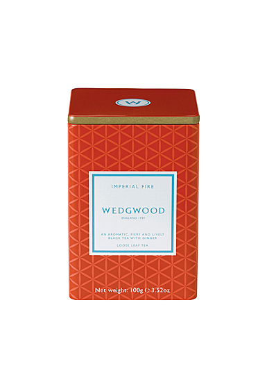 Wedgwood China Signature Tea Imperial Fire Caddy 100G