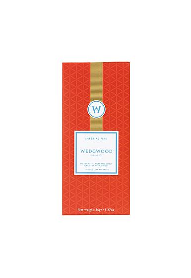 Wedgwood China Signature Tea Imperial Fire Tea Box of 12