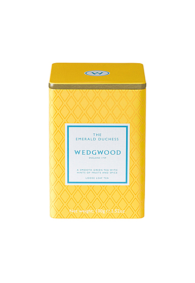 Wedgwood China Signature Tea Emerald Duchess Caddy 100G