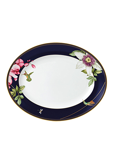 Wedgwood China Hummingbird Oval Platter