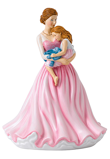 Royal Doulton Pretty Ladies Mother's Angel, Mother Day Figure of the Year 2019