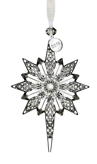 Waterford Crystal Snowstar 2018 Ornament