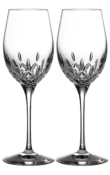 Waterford Crystal Lismore Essence White Wine, Pair