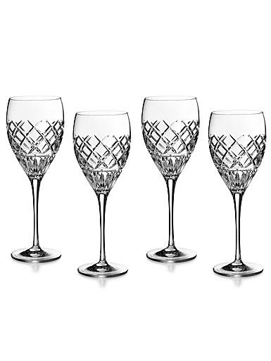Waterford Crystal Eastbridge Wine Glasses, Set of Four