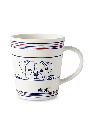 Ed Ellen Degeneres Royal Doulton Dog Mug 16.5 Oz