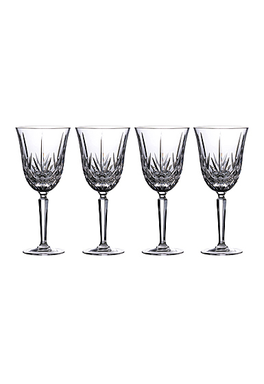 Marquis by Waterford Crystal, Maxwell Goblet, Set of Four