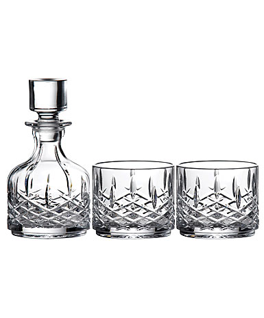 Marquis by Waterford Markham Stacking Decanter and Tumbler Pair