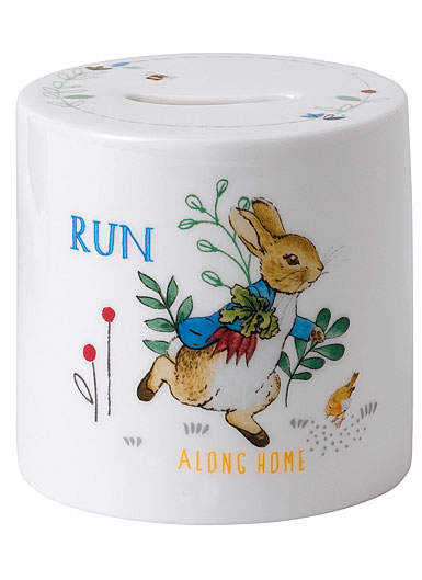 Wedgwood China Peter Rabbit Boy's Money Box
