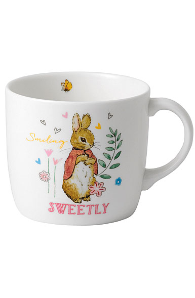 Wedgwood China Peter Rabbit Girl's Single Handed Mug