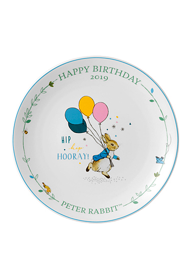Wedgwood China Peter Rabbit 2019 Annual Birthday Plate