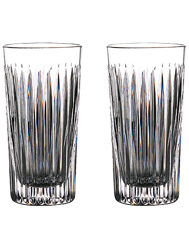 Waterford Crystal Gin Journeys Aras Hiball Glasses, Pair