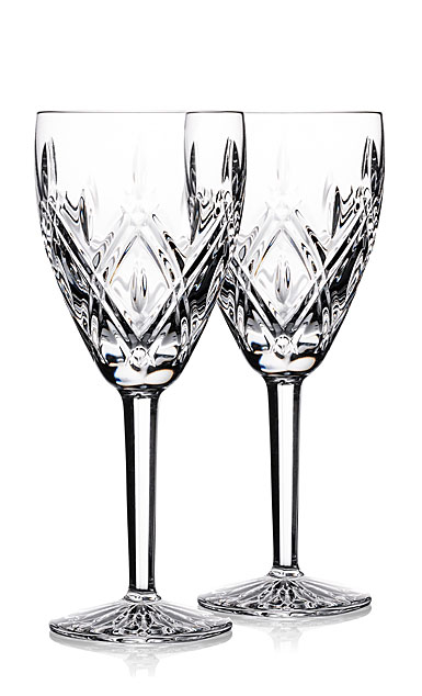 Waterford Crystal Darcy Goblet, Pair