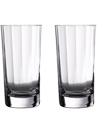 Waterford Crystal Gin Journeys Elegance Optic Hiball Glasses, Pair