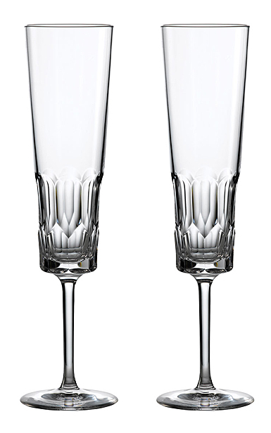 Waterford Crystal Jeff Leatham Icon Flute Pair