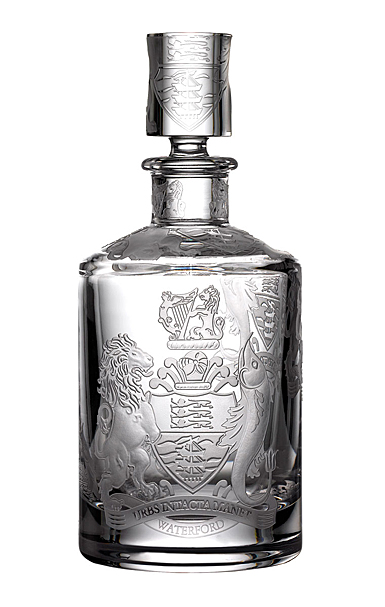 Waterford Crystal Master Craft Crest Whiskey Decanter Limited Edition