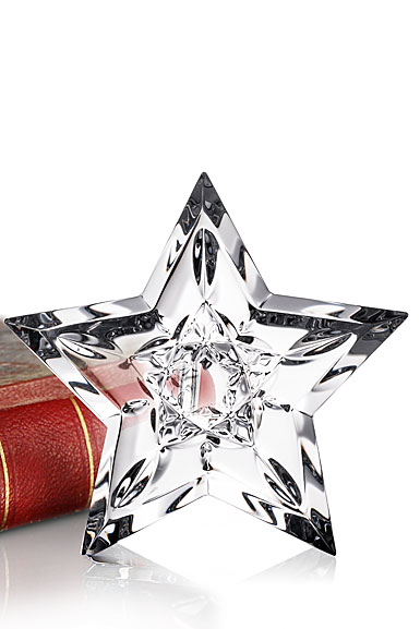 Waterford Crystal Lismore Star Paperweight