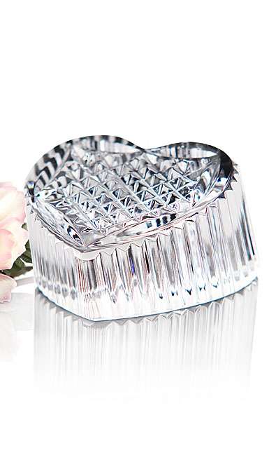 Waterford Crystal Heritage Heart Paperweight
