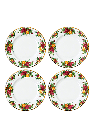 Royal Albert Old Country Roses Salad Plate Set of 4