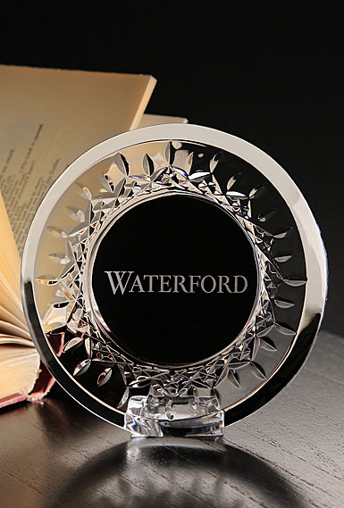 Waterford Crystal Lismore Round Picture Frame