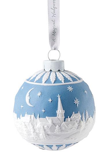 Wedgwood 2019 The Christmas Sky at Night Christmas Ornament