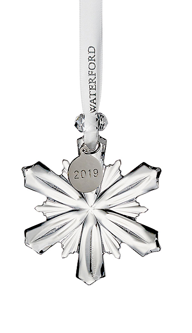 Waterford Crystal 2019 Mini Snowflake Christmas Ornament