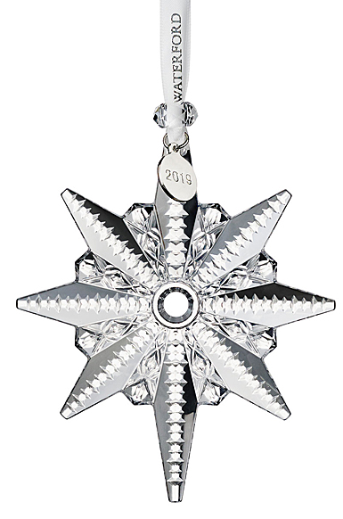 Waterford Crystal 2019 Snowstar Christmas Ornament