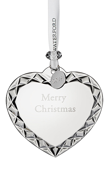 Waterford Crystal 2019 Heart Christmas Ornament