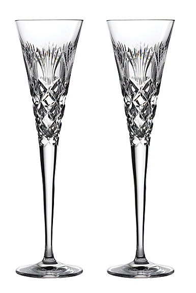 Waterford crystal 2020 times square flutes pair - Waterford crystal swimming pool times ...