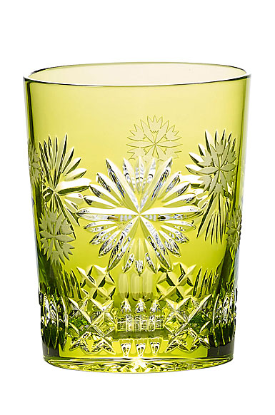 Waterford Crystal, 2019 Snowflake Wishes Prosperity Prestige Edition, Lime Crystal DOF Tumbler Single