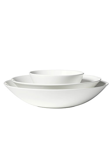 Vera Wang Wedgwood Bone China Perfect White Nesting Bowl Set of Three