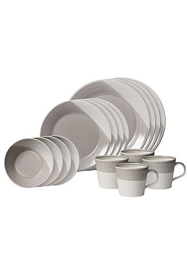 Royal Doulton Bowls of Plenty 16-Piece Set Grey