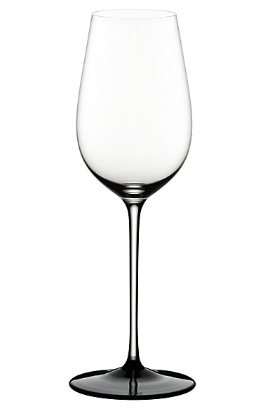 Riedel Sommeliers, Hand Made, Black Tie Riesling Grand Cru Crystal Wine Glass, Single