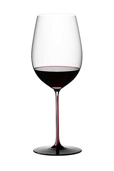 Riedel sommeliers hand made black series collector 39 s for Thin stem wine glasses